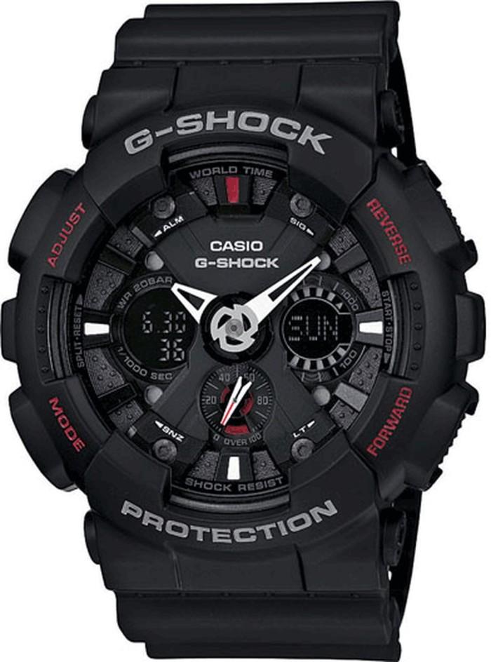 harga Casio jam tangan g-shock ga-120-1adr Tokopedia.com