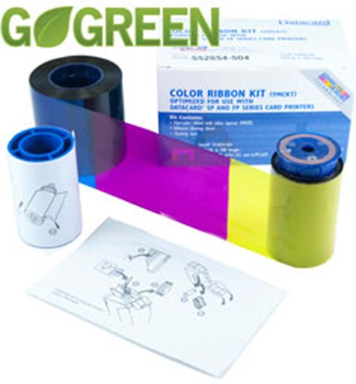 harga Ribbon printer kartu id card datacard ymckt 534000-002 250images Tokopedia.com