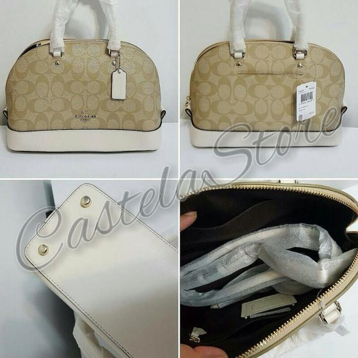 Jual Jual Tas Coach Mini Sierra Khaki Chalk Original - castela store ... cddc4fc576