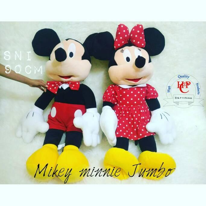 harga Boneka mikey minnie jumbo couple Tokopedia.com