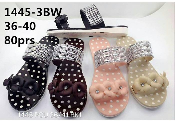 harga Jelly sandal premium lily polkadot - sandal karet - jelly shoes import Tokopedia.com
