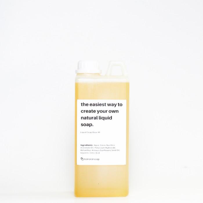 harga Liquid soap base high foam unscented banaransoap Tokopedia.com