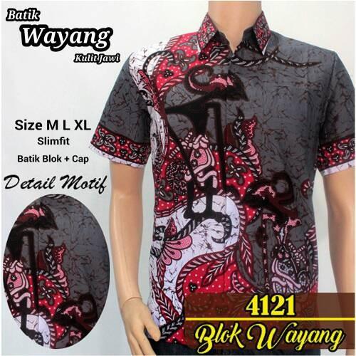 Jual Model Baju Kemeja Batik Modern Pria Batik Pekalongan Wayang Biru Kota Yogyakarta Grosir Kemeja Batik Pria Tokopedia