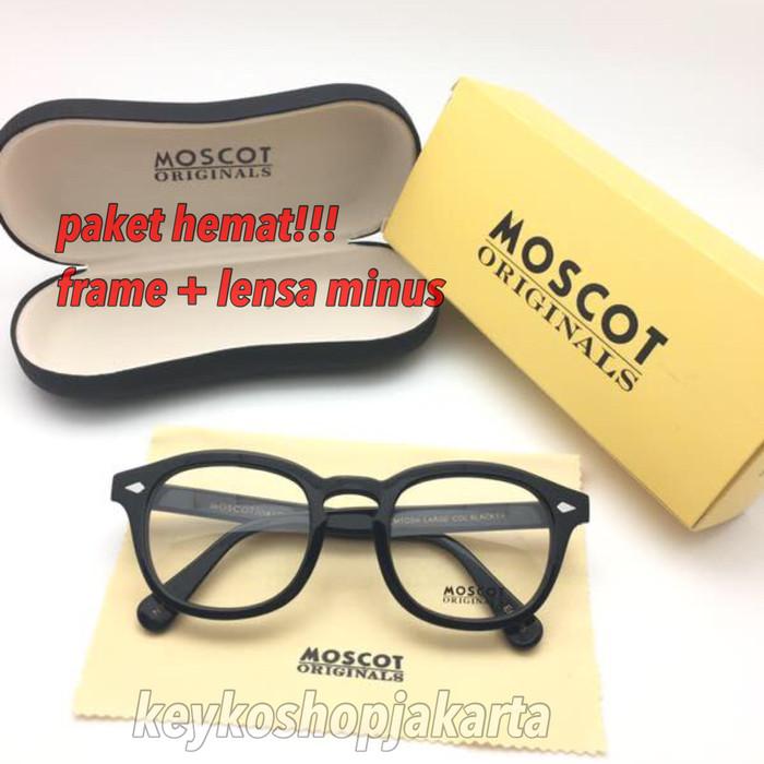 harga Free lensa minus - frame kacamata baca pria wanita moscot lemtosh  Tokopedia.com 10c7260df9