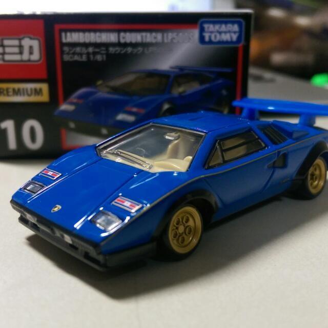 Jual Diecast Tomica Premium 10 Lamborghini Countach Lp500s Murah