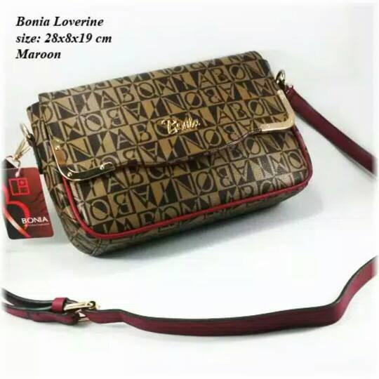 harga Tas bonia loverine/ tas wanita bonia/ tas selempang/ sling bag branded Tokopedia.com