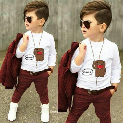harga Set Domo Kids Maroon Tokopedia.com