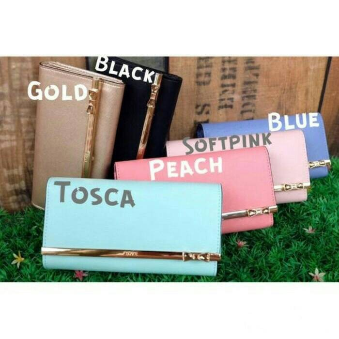 Dompet Wanita Import Kqueenstar Wallet Jims Honey