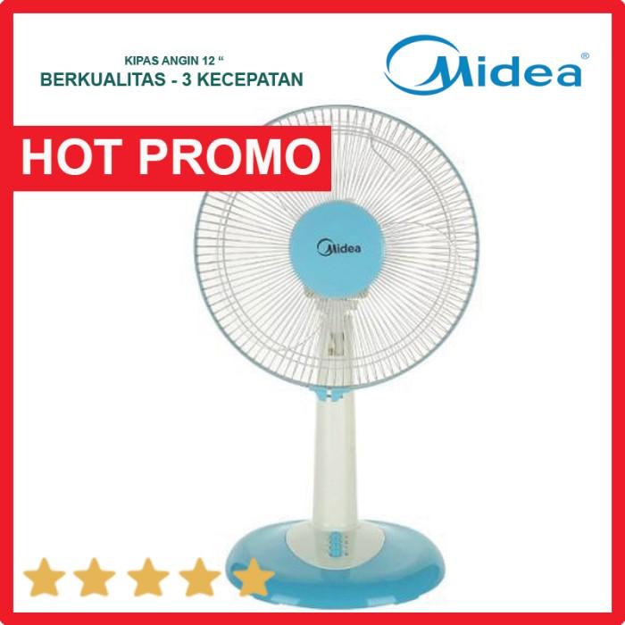 harga Kipas angin midea fan ft 30 8 j baling baling besar 12 inch 40 watt Tokopedia.com