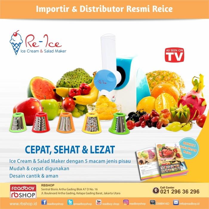 harga Reice alat membuat es krim & salad / ice cream maker / salad maker Tokopedia.com