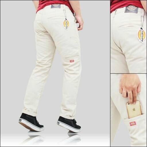 Foto Produk celana chino workpants cream/black dari romifootwear