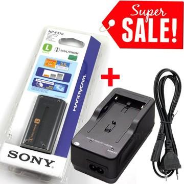 harga Battery sony np-f570 (2200mah) + charger sony bc-v615 Tokopedia.com