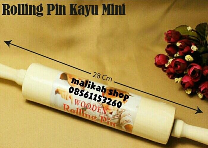 harga Rolling pin kayu mini Tokopedia.com
