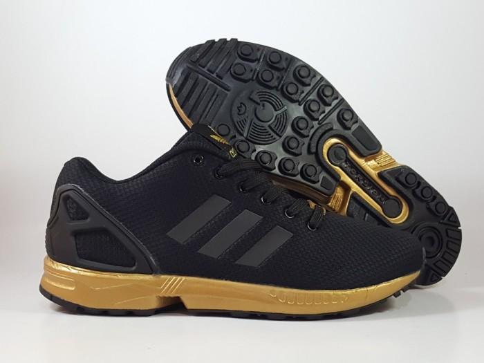newest collection 8d0ff ab5b9 Jual Sepatu Running Lari Adidas ZX Flux Black Gold - Kota Batam - Elite  Basketball Store | Tokopedia