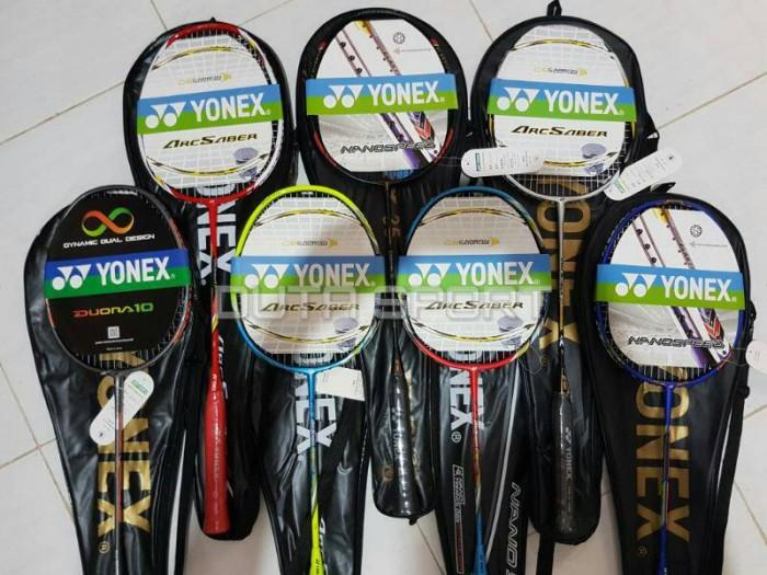 harga Raket badminton yonex import bagus murah bonus senar & grip Tokopedia.com
