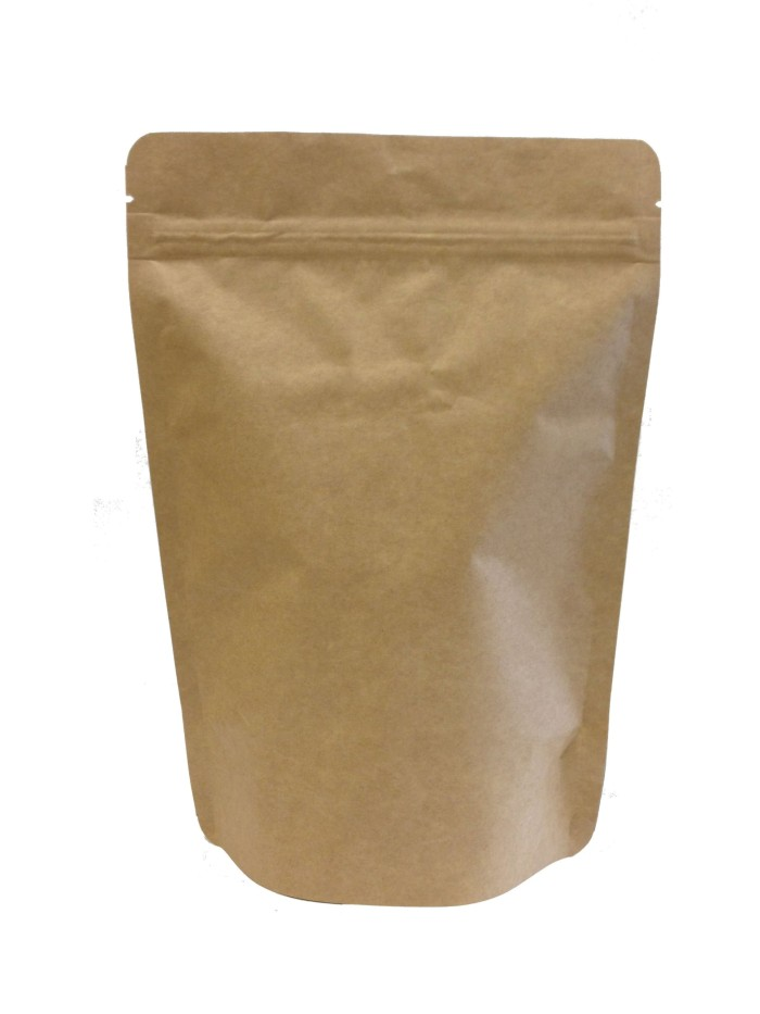 harga Kemasan paper kraft 500 gram ecopack 14x23 standing pouch kertas kopi Tokopedia.com