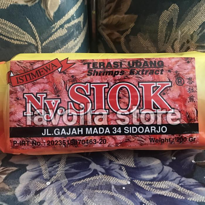 harga Terasi udang ny. siok mentah Tokopedia.com