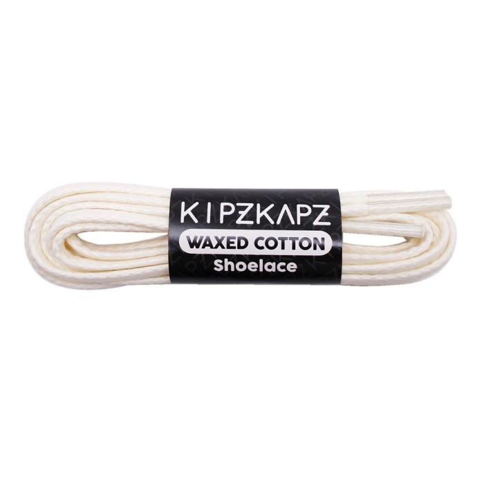harga Kipzkapz ws4 white 80cm 100cm tali sepatu / waxed cotton flat shoelace Tokopedia.com