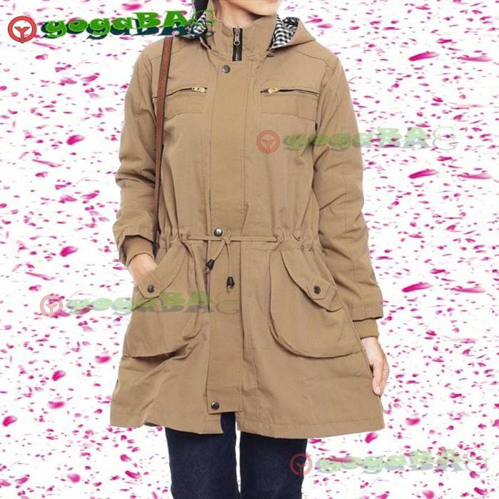 101+ Gambar Jaket Parka Korea Wanita Kekinian