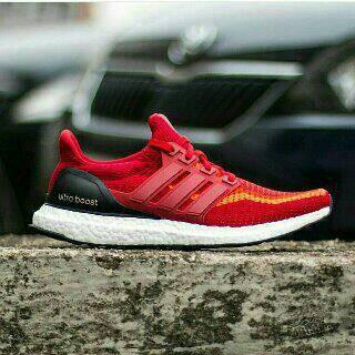 Jual Sepatu Adidas Ultra Boost Men Power Red Premium Quality ... 891fb79140