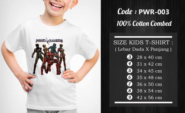 harga Kaos / baju anak power rangers - pwr-003 Tokopedia.com