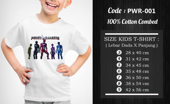 harga Kaos / baju anak power rangers - pwr-001 Tokopedia.com