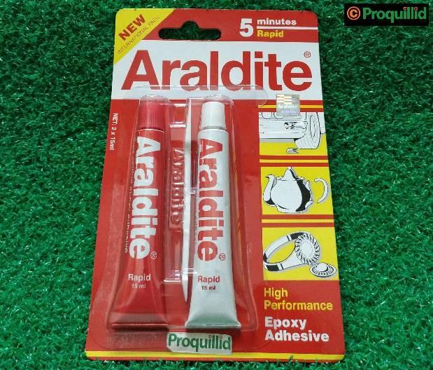 harga Epoxy adhesive / lem campur 5 minutes / menit rapid 30 ml - araldite Tokopedia.com