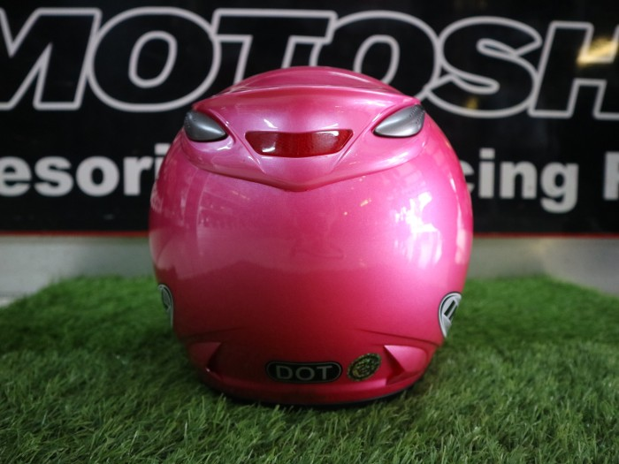 Helm INK Centro Jet Solid Pink ORIGINAL