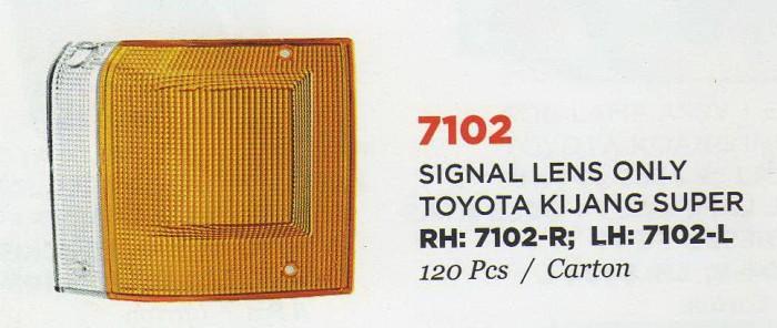 harga 7102r/l lens signal only/ mika sen toyota kijang super rh/lh Tokopedia.com