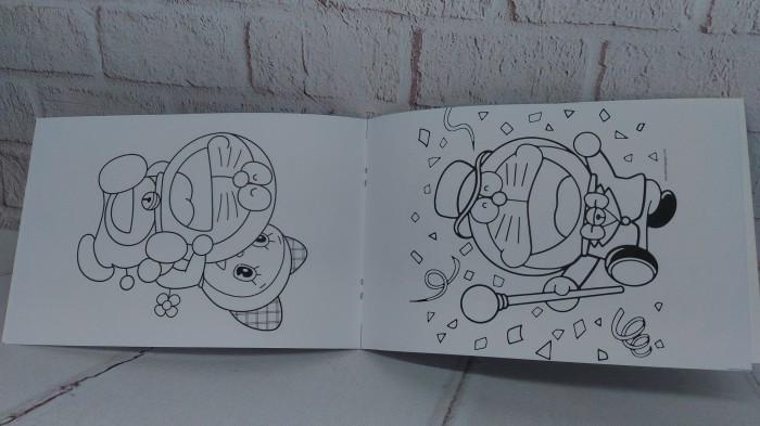 Jual Souvenir Ulang Tahun Buku Mewarnai Doraemon Souvenir Ultah
