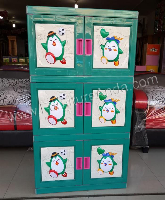 harga Lemari plastik club pinguin 3 susun Tokopedia.com