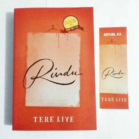Original Novel Rindu Republika - Tere Liye | Bio Bookstore