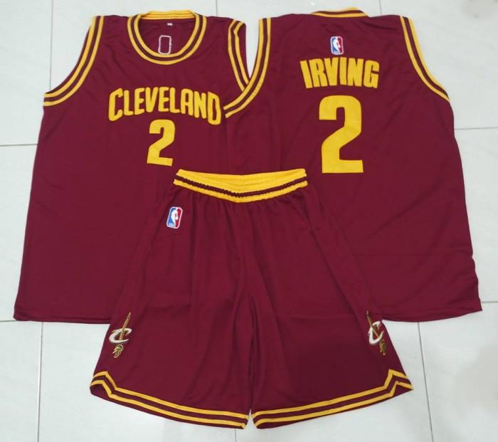 lowest price 7e649 e68f2 Jual Jersey Basket NBA Irving Cleveland Cavaliers Maroon - TokoBasket |  Tokopedia