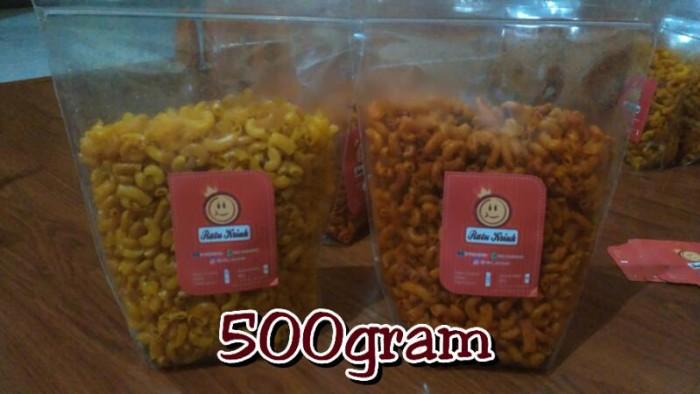 harga Makaroni 500gr (makaroni goreng kriuk kres) by ratu kriuk Tokopedia.com