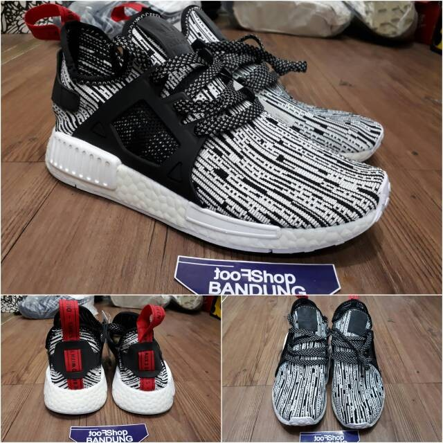8d283a58f951d ... harga Adidas nmd xr1 runner pk glitch camo grey red premium (free tas  sepatu