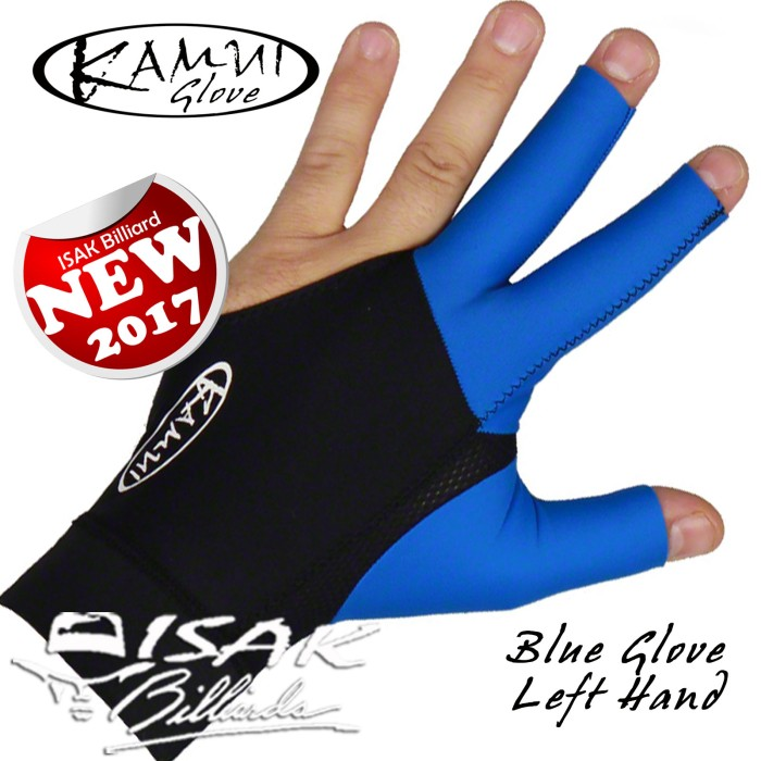 harga Kamui glove blue - left hand - sarung tangan pool biliar billiard asli Tokopedia.com
