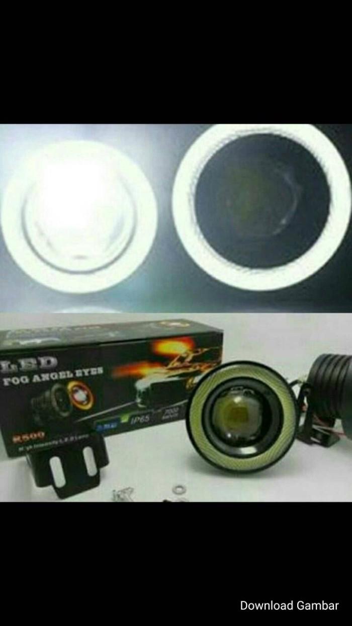 harga Fog lamp led projector dgn ring angle eyes ukuran 76mm Tokopedia.com