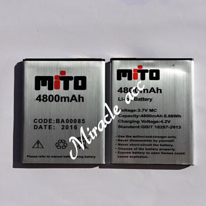 harga Baterai mito a10 impact android one ba-00085 original/batre/battery Tokopedia