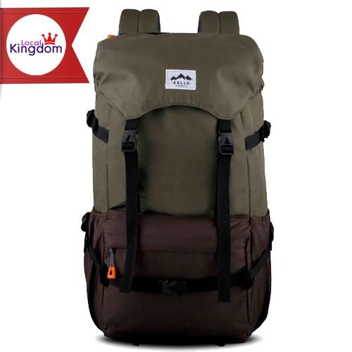 harga Sollu wanderpack peak semi carrier olive brown original / tas ransel Tokopedia.com