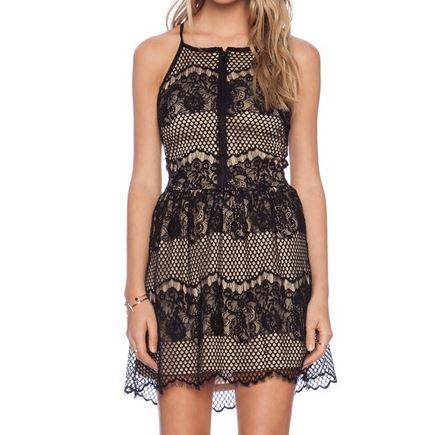 harga Black lace halter v-neck dress crochet pesta pantai bohemian brukat Tokopedia.com