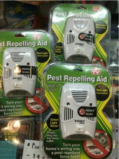harga Riddex quad pest control alat elektronik pengusir kecoa, nyamuk dll Tokopedia.com