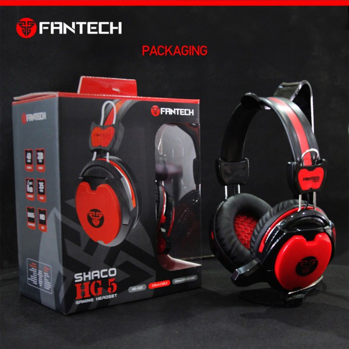 Headset Gaming FANTECH HG-5