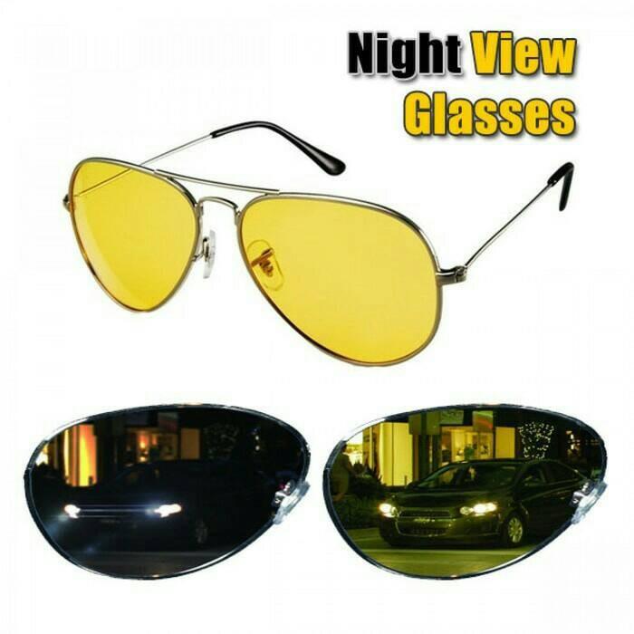harga Kacamata pria wanita malam hari - car mobil sepeda motor night glasses Tokopedia.com