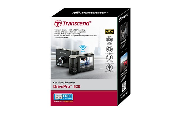 harga Transcend drive pro 520 / drivepro 520 - car video recorders camera Tokopedia.com