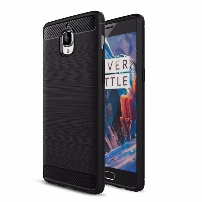 harga Oneplus 3 | 3t carbon fiber softcase tpu | viseaon Tokopedia.com