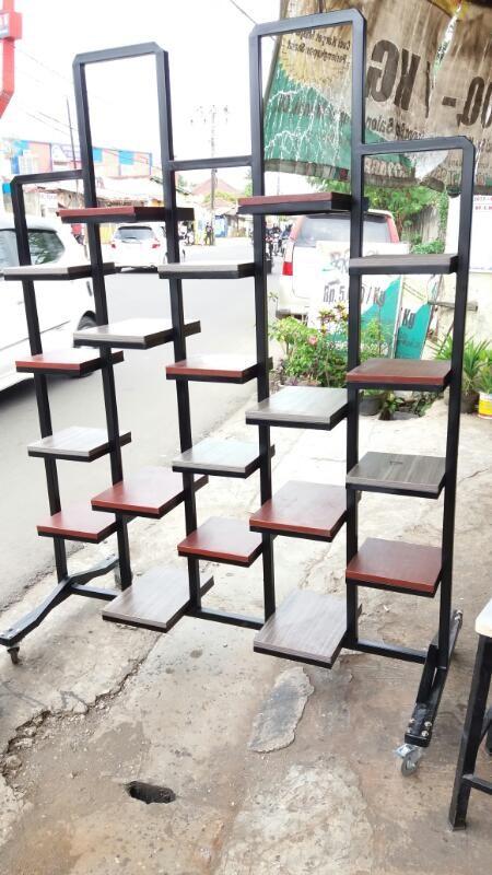 Jual Rak Besi Pot Bunga Kota Tangerang Selatan Taste Furniture Tokopedia