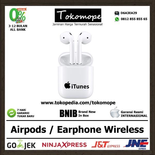 harga Airpods Earphone Wireless Bluetooth For Iphone Ipad Imac Macbook Tokopedia.com