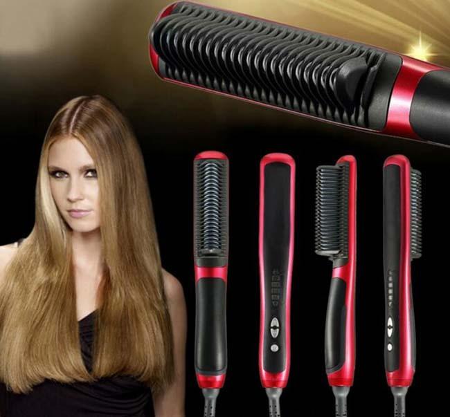 Foto Produk [ASL908] Catok Sisir Pelurus Rambut NEW Fast Hair Straightener ASL-908 dari supplier beauty