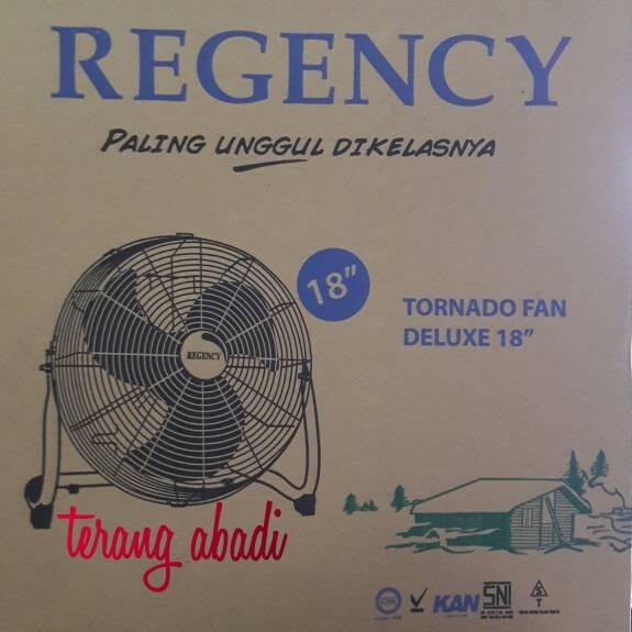 harga Kipas angin duduk regency (tornado fan) deluxe 18  besi Tokopedia.com