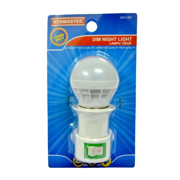 Kenmaster Lampu Tidur Dim Night 3W LED